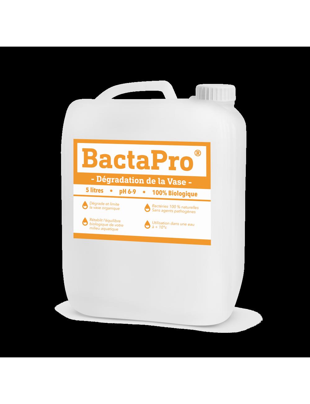 Dégradation de la vase - BactaPro